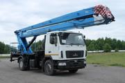 Автовышка 28м на базе МАЗ-5340В2