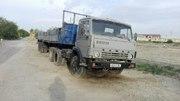 КАМАЗ 5410 тягач с прицепом МАЗ 9397