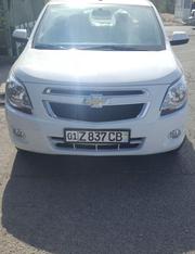 Продается автомашина марки Кобальт белого цвета,  новый!