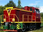 Тепловоз ТГМ 23Д маневровый модернизированный